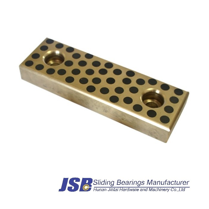 oilless slide plate,wear plate, graphite plugged plate