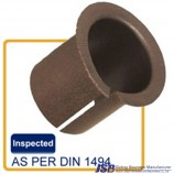 Metal mesh with PTFE bushing,strip and shaft fit tolerance standard  when the spherical shape bronze sleeve bearing inside di