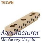 TGLWN T shaped slide bearing, bronze slide oilless plate