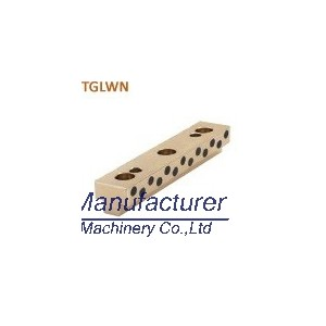 TGLWN T shaped slide bearing, bronze slide oilless plate
