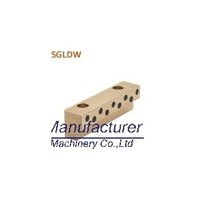 SGLDW guide slide pad, oilless bronze wear plate