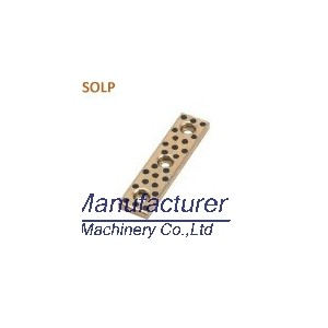 SOLP guide slide plate, wear pad, oilless bearing plate
