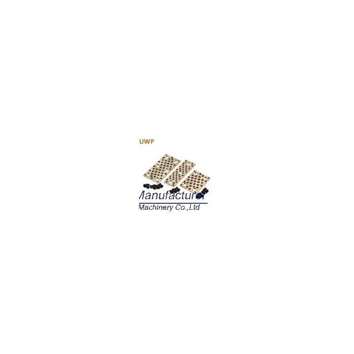 UWP oiles slide plate,50SP2,500SP bronze slide bearing pad