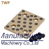 TWP TWPT oilless bronze plate, 10mm thickness wear pad