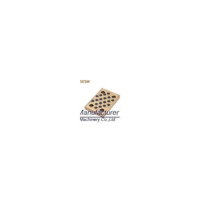 SESW SESWT oilless slide plate, bronze wear plate