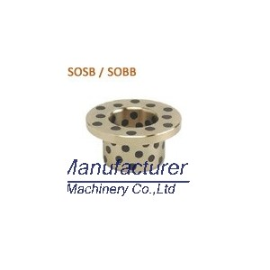 SOSB SOBB oilless thrust bush, bronze flange bush