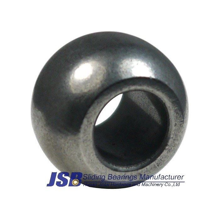 Spherical iron sintered bearing