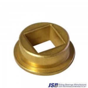 Square flange sintered bronze bushing,square bushing