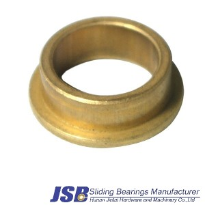 FU flanged oil retaining bronze bushing