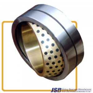 spherical bronze bushing with graphite