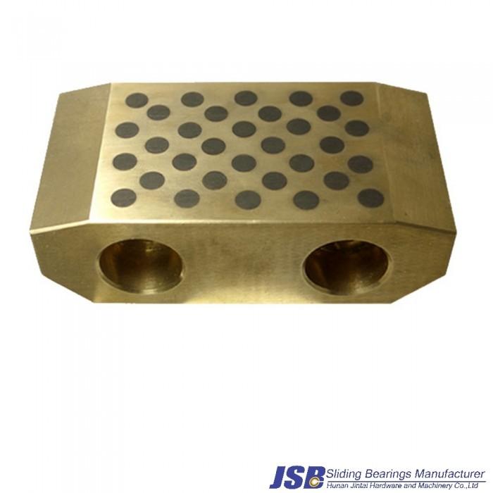 casting bronze graphite material sliding pad