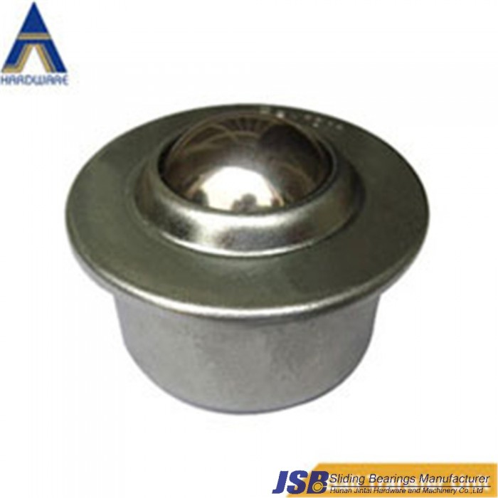 """CY-15H ball transfer unit,15kg load capcity ,CY-16H carbon steel unit """"steel and copper welding characteristics"""" bar.Steel and B"""