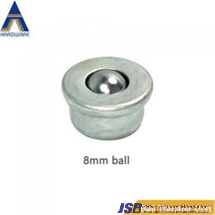 CY8H 8mm Ball transfer unit, 3kg loading capacity,CY-8H small transfer ball bearing unit.
